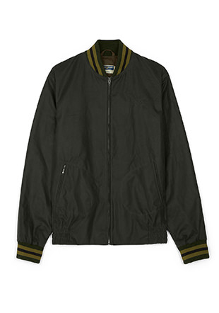 Reissues Mie Waxed Tennis Bomber