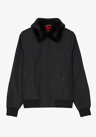 Reissues Fur Trim Harrington Jacket