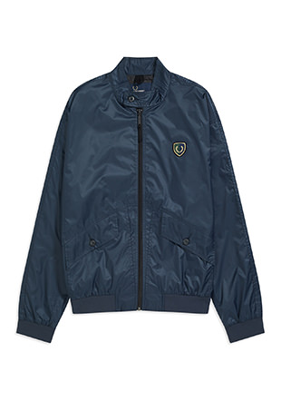 Shield Badge Harrington Jacket