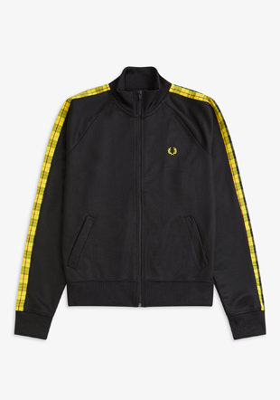Tartan Laurel Wreath Track Jkt
