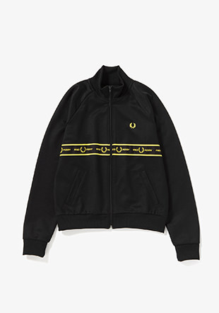 Tape Detail Track Jacket