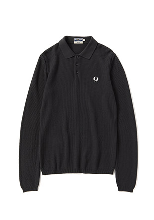 Reissues L/S Texture Knit Shirt