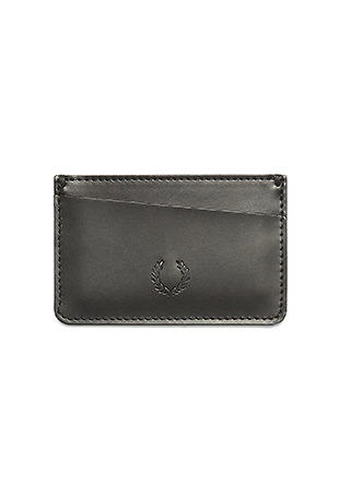 Laurel Wreath Leather Cardholder
