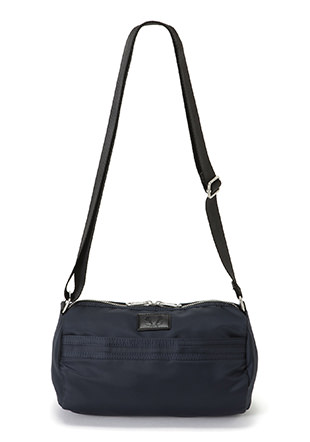 Nylon Crossbody Barrel Bag