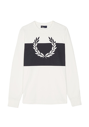 Blocked Laurel Wreath T-Shirt