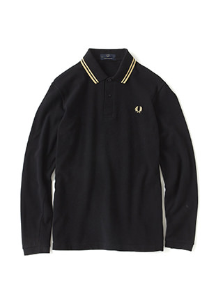 L/S Twin Tipped Fred Perry Shirt (Made in England)