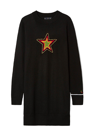 Bella Freud Star Knit Dress