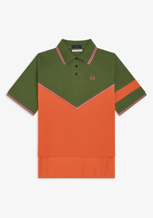 Akane Utsunomiya Cut And Sew Polo Shirt