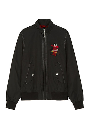 Le kilt Harrington Jacket