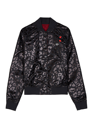 Amy Winehouse Reversible Bomber Jacket