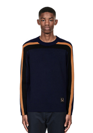 Raf Simons Stripe Crewneck Sweater