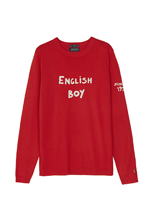 Bella Freud 'ENGLISH BOY' Sweater