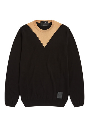 Raf Simons Stitch Detail Crew Neck Jumper