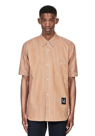 Raf Simons Striped Boxy Shirt