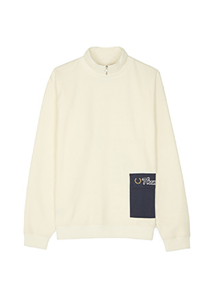 Thames Zip Neck Sweatshirt