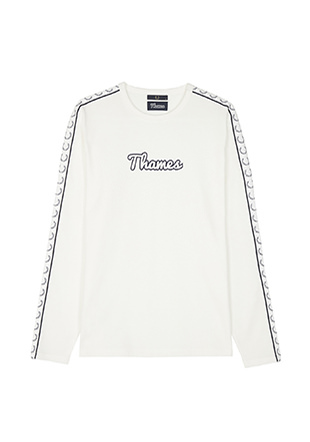 Thames Long Sleeve Taped Ringer T-Shirt