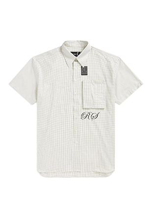 Raf Simons Space Pocket Micro-Check Shirt