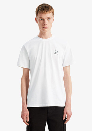 Raf Simons Laurel Wreath Detail T-Shirt