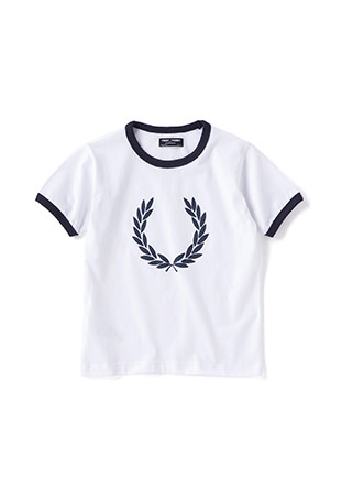 Kids Laurel Wreath Ringer T-Shirt