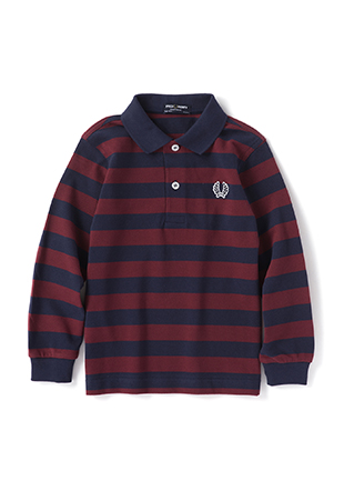 Kids Striped Pique Shirt