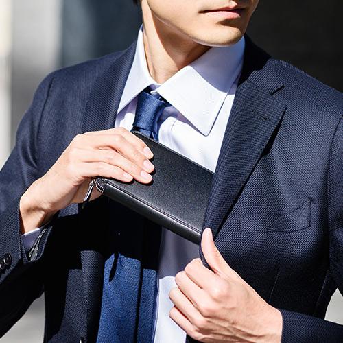 【二宮五郎商店】ホーウィンシェルコードバン グランマスタージップアラウンドウォレット