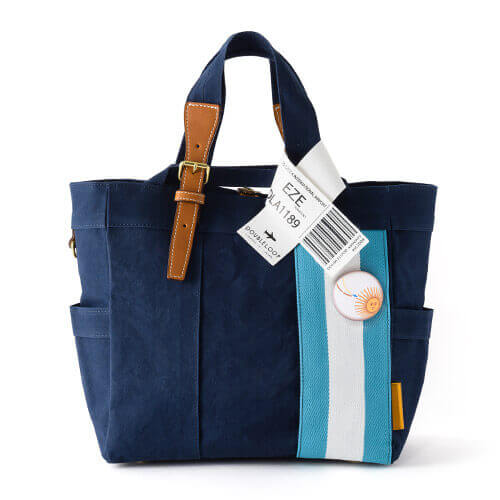 "【DOUBLELOOP】JOURNEY resort tote""MEDIUM""/帆布トートバッグ"