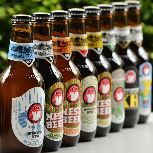 《木内酒造》厳選 常陸野ネストビール 8種8本飲み比べセット