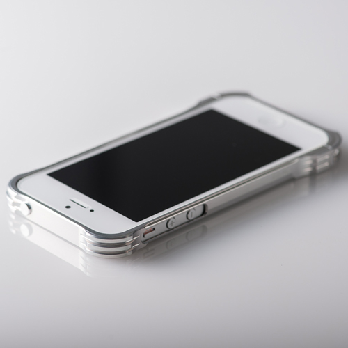 【REAL EDGE】C-1 for iPhone SE/5/5s / silver (シルバー)