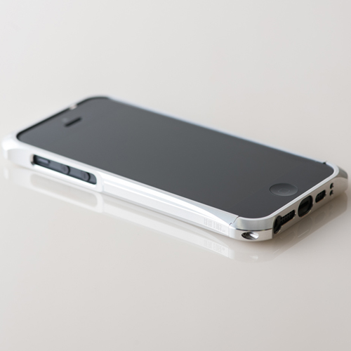 【REAL EDGE】C-2 for iPhone SE/5/5s/silver (シルバー)