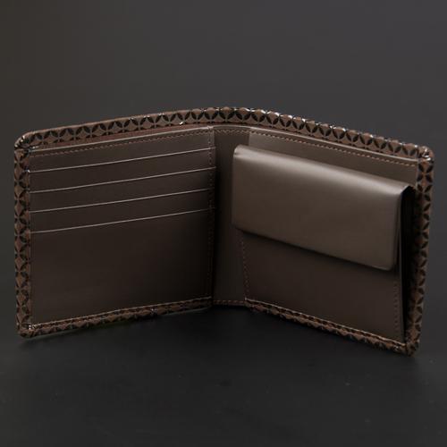 【JIZAING×INDEN】二つ折り財布