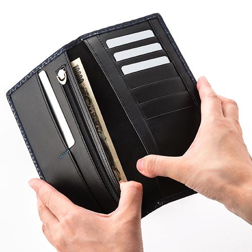 【JIZAING×INDEN】薄型長財布