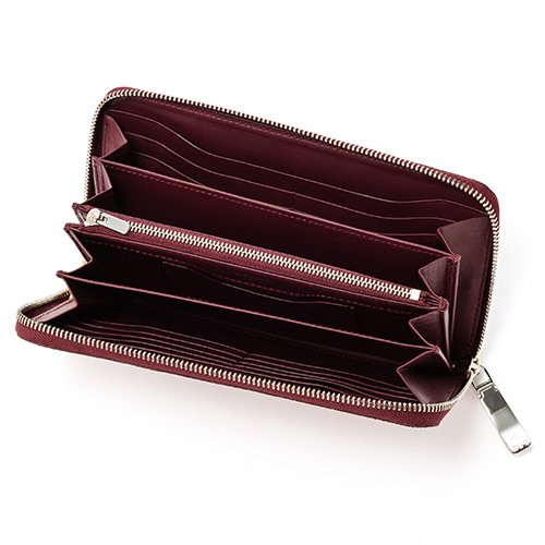 【PELLE MORBIDA】Barca / Zip Wallet(Large) -RING LIZARD-