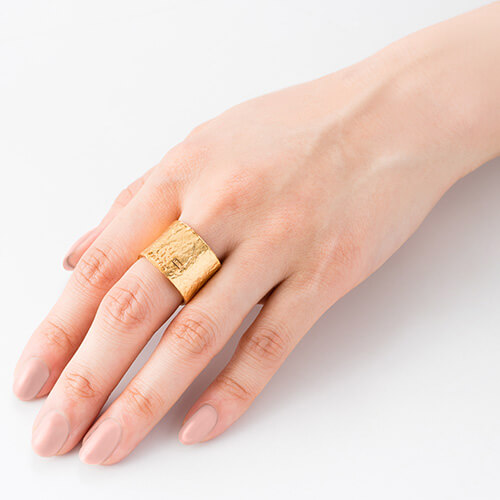 【NAGAE+】TIN BREATH Ring