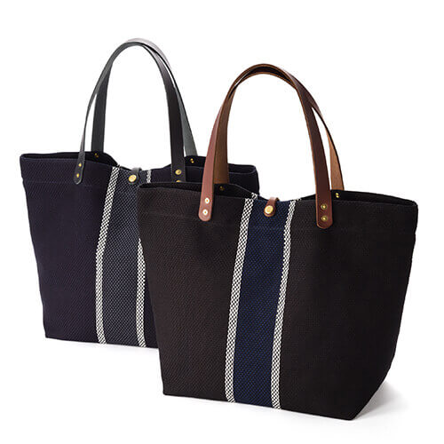 【THE CANVET】FUJIOKA Limited TOTEBAG(藤巻百貨店別注仕様) 刺し子トート