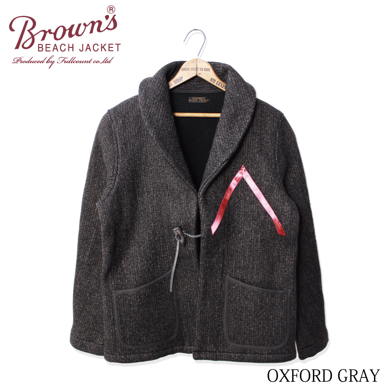 BROWN'S BEACH SHAWL COLLAR ROBE【再入荷】