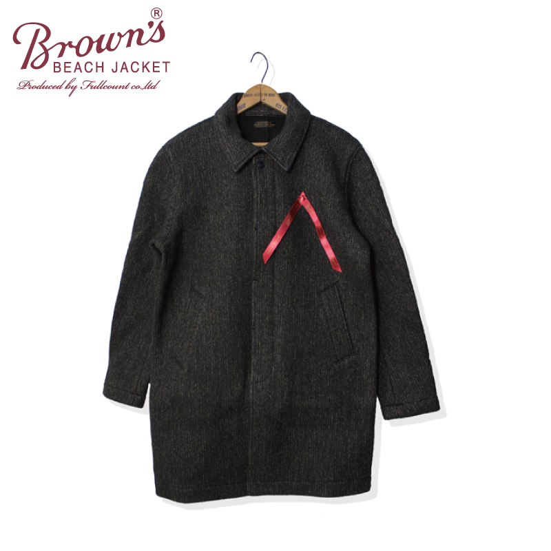BROWN'S BEACH SOUTIEN COLLAR COAT【今お勧め!】