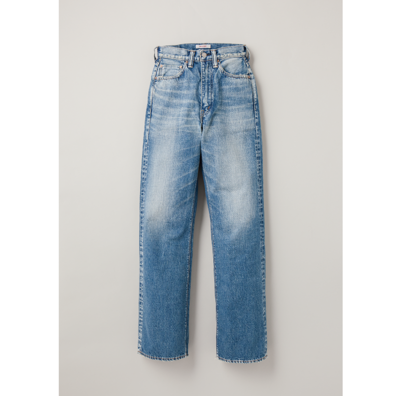 "Womens Wide Straight ""Monroe"" Hand Washed Denim"