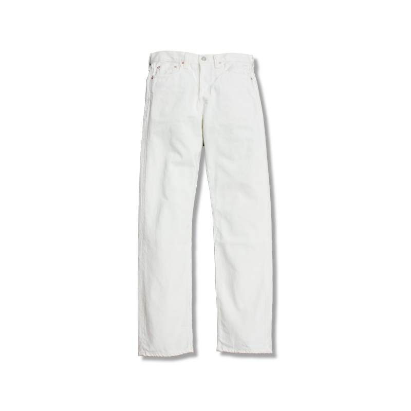 White Selvedge Slim Straight Denim[新発売!]