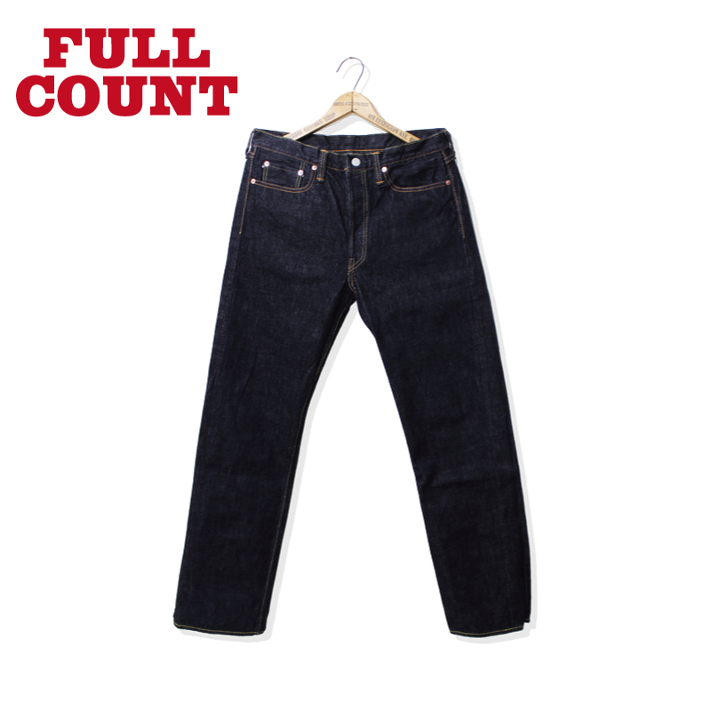 Slim Straight Denim Heavy Oz