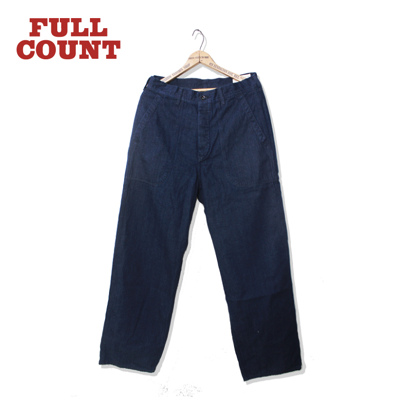 USN SEAMENS DENIM TROUSERS ONE WASH【再入荷】