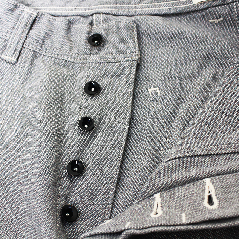 USN SEAMENS OXFORD TROUSERS ONE WASH【残り一着】