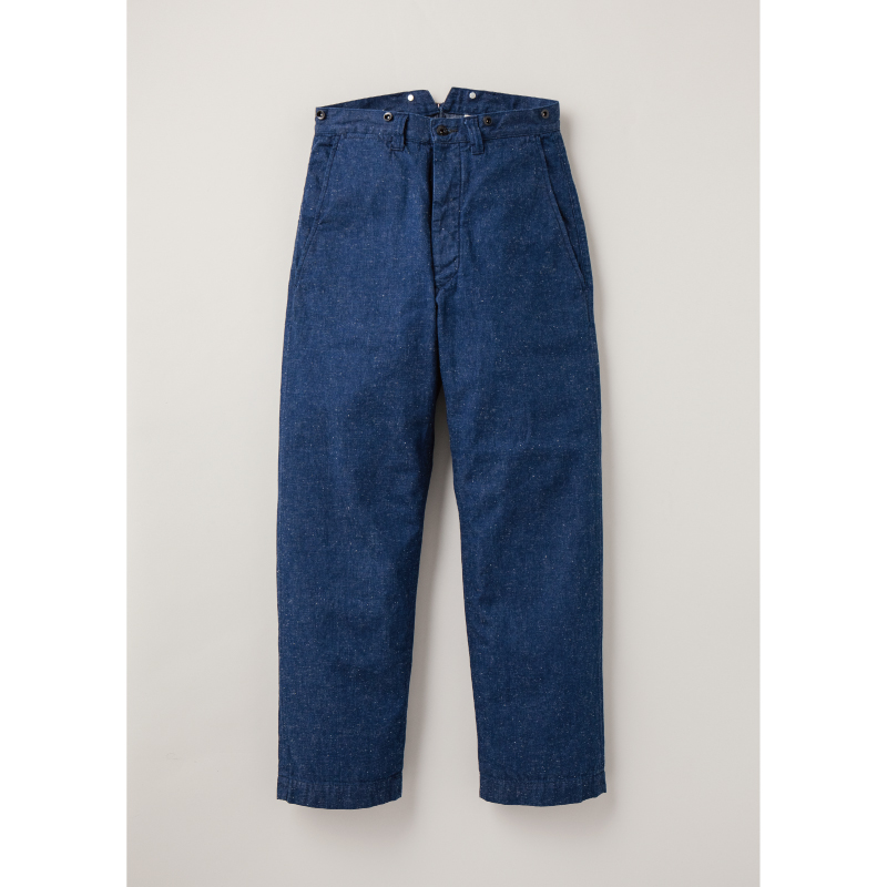 Indigo Nep Farmers Trousers【新発売!】