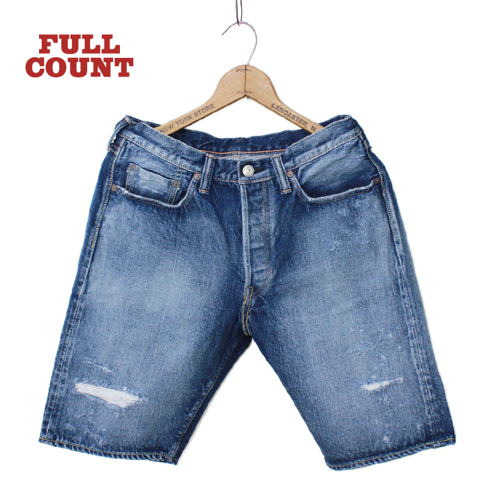 5POCKET DENIM SHORTS DAMEGE