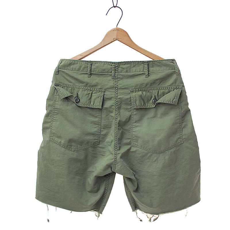 CUTOFF UTILITY SHORTS