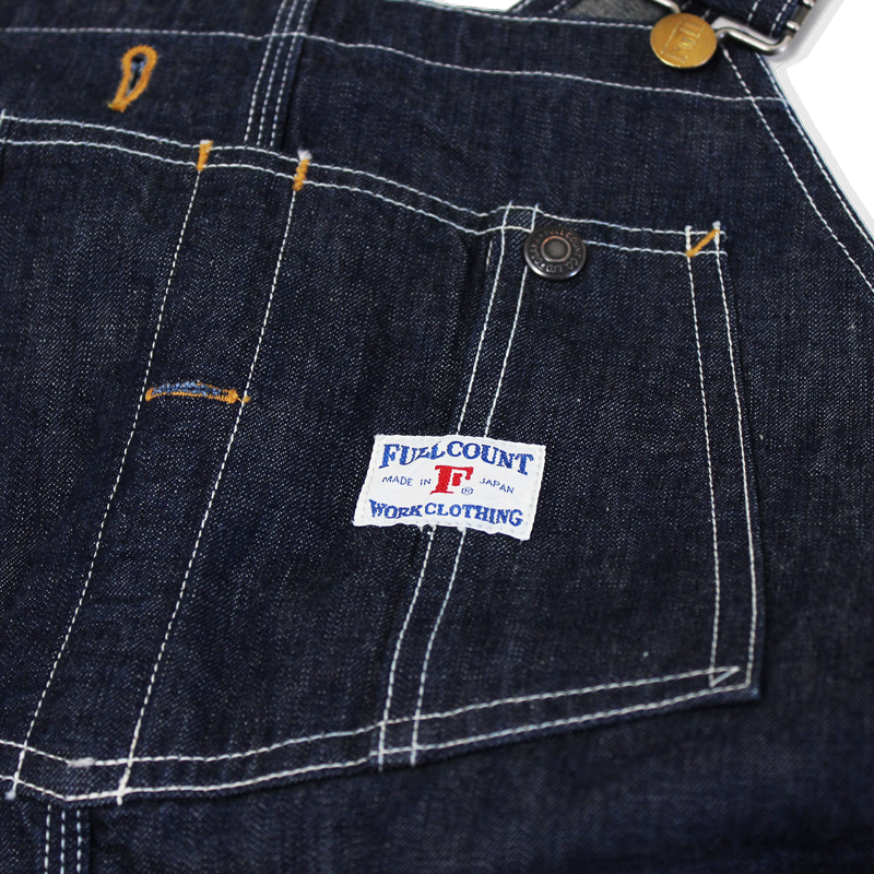 DENIM OVERALLS ONE WASH【再入荷】