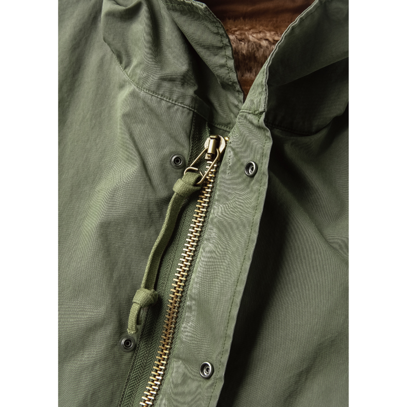 Stand Collar Hooded Mods Coat【ラスト2点!】