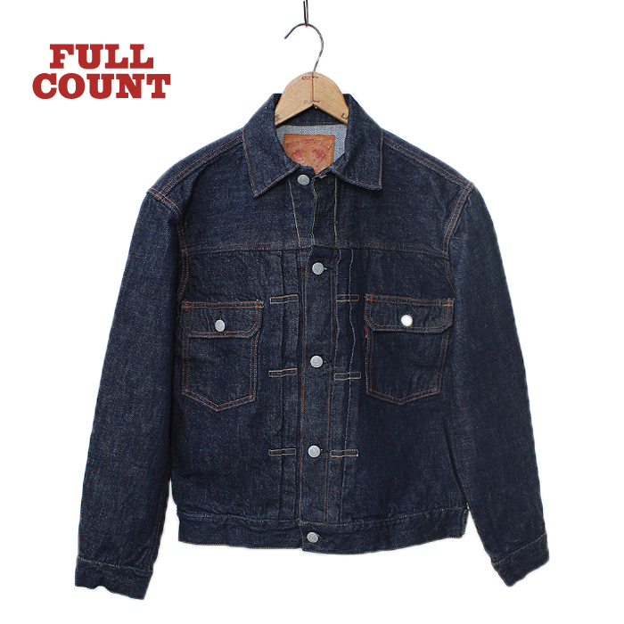 2102 double flap pocket 2nd model fullcount フルカウント g
