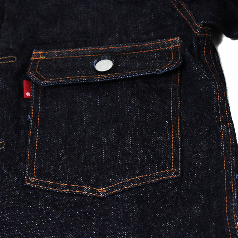 DOUBLE FLAP POCKET HEAVY OZ(2nd MODEL)【少量入荷】