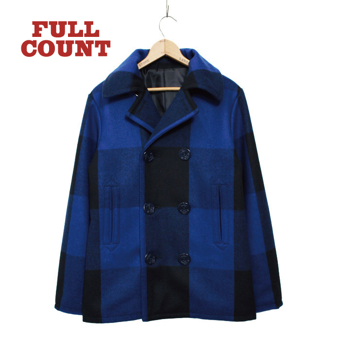 BUFFALO CHECK 8BUTTON P-COAT