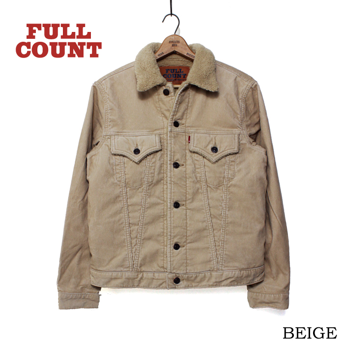 CORDUROY BOA FLEECE JACKET【SALE ITEM】